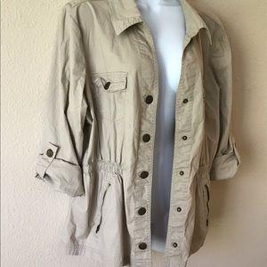 Dress barn light weight jacket